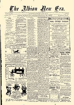 Albion New Era, December 28, 1893, Page 1