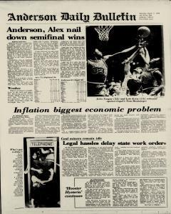 Anderson Daily Bulletin, March 11, 1978, Page 2