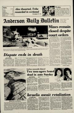 Anderson Daily Bulletin, March 13, 1978, Page 2
