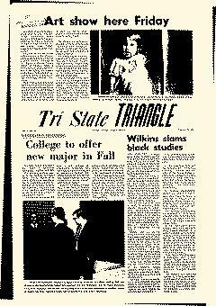 Tri State Triangle, January 30, 1969, Page 1