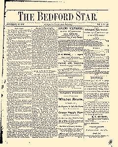 Bedford Star, November 18, 1876, Page 1