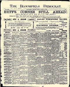 Bloomfield Democrat, March 06, 1891, Page 1