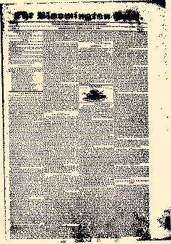 Bloomington Post newspaper archives