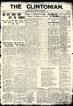 Clinton Clintonian, September 08, 1911, Page 1