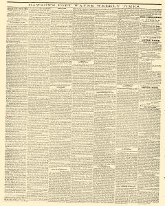 Dawsons Fort Wayne Weekly Times, September 14, 1859, Page 5