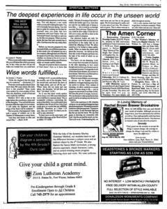 Fort Wayne Frost Illustrated, May 20, 1998, Page 9