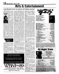 Fort Wayne Frost Illustrated, May 08, 2002, Page 14