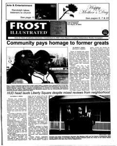 Fort Wayne Frost Illustrated, May 08, 2002, Page 1