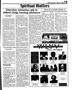 Fort Wayne Frost Illustrated, May 08, 2002, Page 19