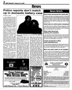 Fort Wayne Frost Illustrated, February 19, 2003, Page 2
