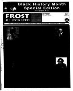 Fort Wayne Frost Illustrated, February 19, 2003, Page 1