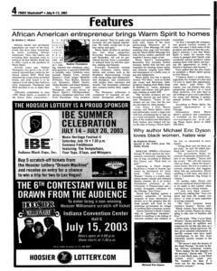 Fort Wayne Frost Illustrated, July 09, 2003, Page 4