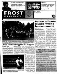 Fort Wayne Frost Illustrated, July 09, 2003, Page 1