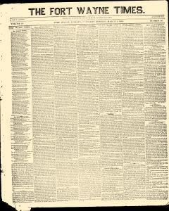Fort Wayne Times, March 01, 1855, Page 2