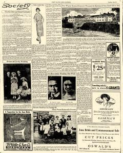 Sunday News Sentinel, June 12, 1921, Page 10
