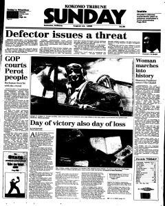 Kokomo Tribune Sunday, August 13, 1995, Page 1