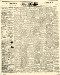 Kokomo Tribune, July 28, 1870, Page 1