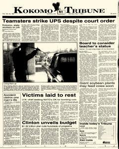 Kokomo Tribune, February 07, 1994, Page 1