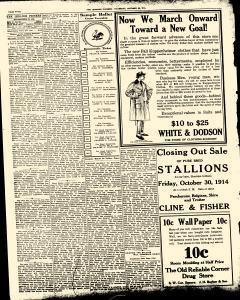 Lebanon Pioneer, October 22, 1914, Page 4
