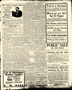 Lebanon Pioneer, October 22, 1914, Page 7