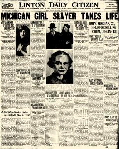 Linton Daily Citizen, December 15, 1936, Page 1