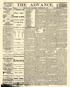 Advance, December 26, 1874, Page 1