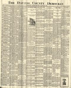 Daviess County Democrat, October 22, 1898, Page 1