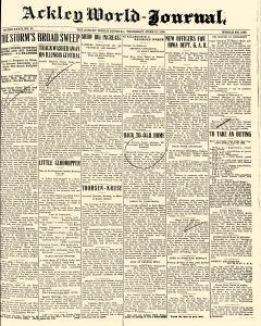 Ackley World Journal, June 18, 1925, Page 1