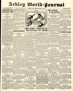 Ackley World Journal newspaper archives