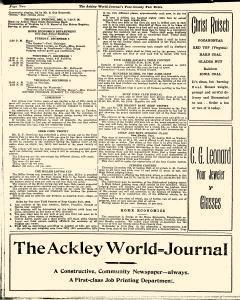 Ackley World Journal, December 01, 1932, Page 7