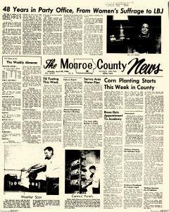 Albia Monroe County News newspaper archives