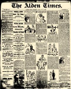 Alden Times, January 17, 1890, Page 13