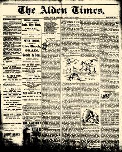 Alden Times, January 31, 1890, Page 13