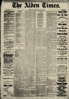 Alden Times, May 02, 1890, p. 2