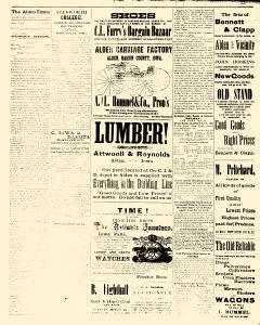 Alden Times, August 01, 1890, Page 16