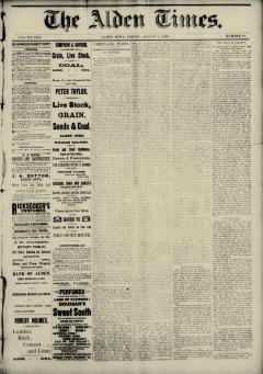 Alden Times, August 01, 1890, Page 2