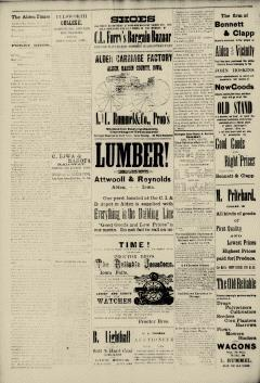 Alden Times, August 01, 1890, Page 8