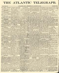 Atlantic Telegraph, August 20, 1890, Page 1