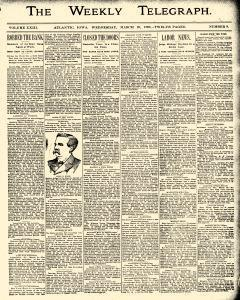 Atlantic Weekly Telegraph, March 29, 1893, Page 1