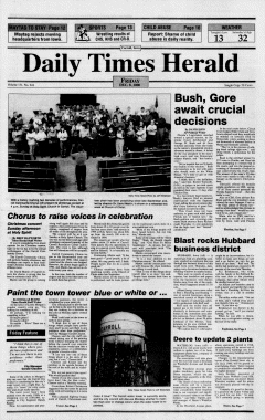Carroll Daily Times Herald, December 08, 2000, Page 1
