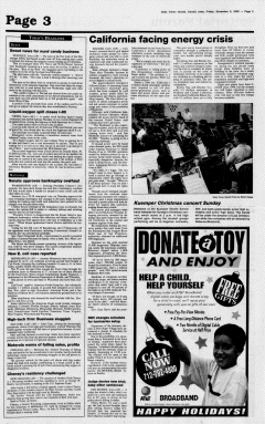 Carroll Daily Times Herald, December 08, 2000, Page 3