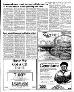 Daily Times Herald, April 27, 2000, Page 15