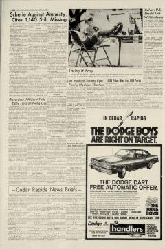 Cedar Rapids Gazette, July 21, 1974, Page 20
