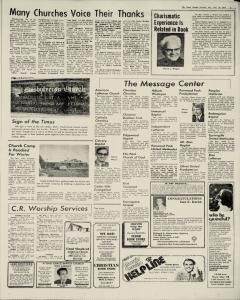 Cedar Rapids Gazette, November 23, 1974, Page 3