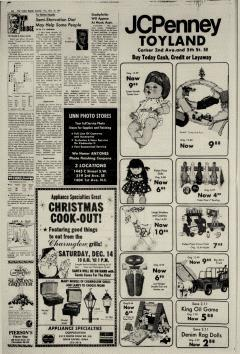 Cedar Rapids Gazette, December 13, 1974, p. 10