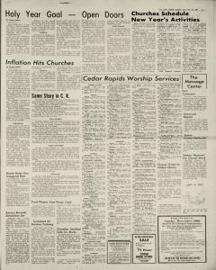 Cedar Rapids Gazette, December 28, 1974, Page 3