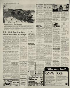 Cedar Rapids Gazette, December 31, 1974, Page 2