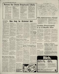 Cedar Rapids Gazette, December 31, 1974, Page 4