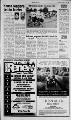 Cedar Rapids Gazette, September 02, 2006, Page 13