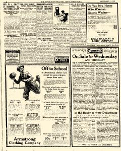 Cedar Rapids Republican and Times, September 12, 1922, Page 6